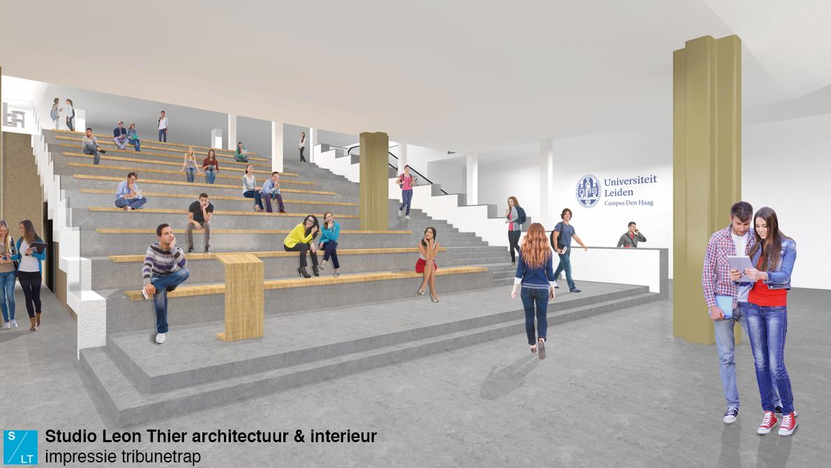 Interieur Universiteit Leiden