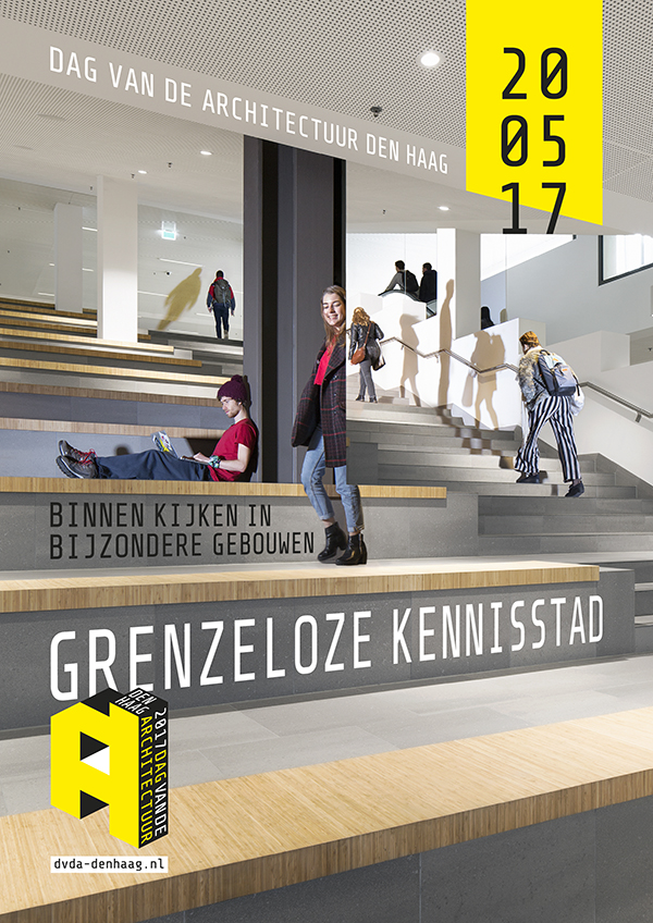 poster dag van de architectuur Den Haag
