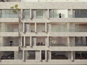 amadeus gevel appartementen