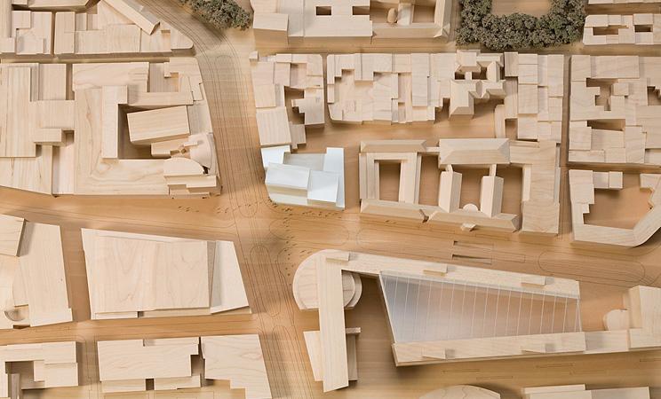 maquette amadeus appartementen