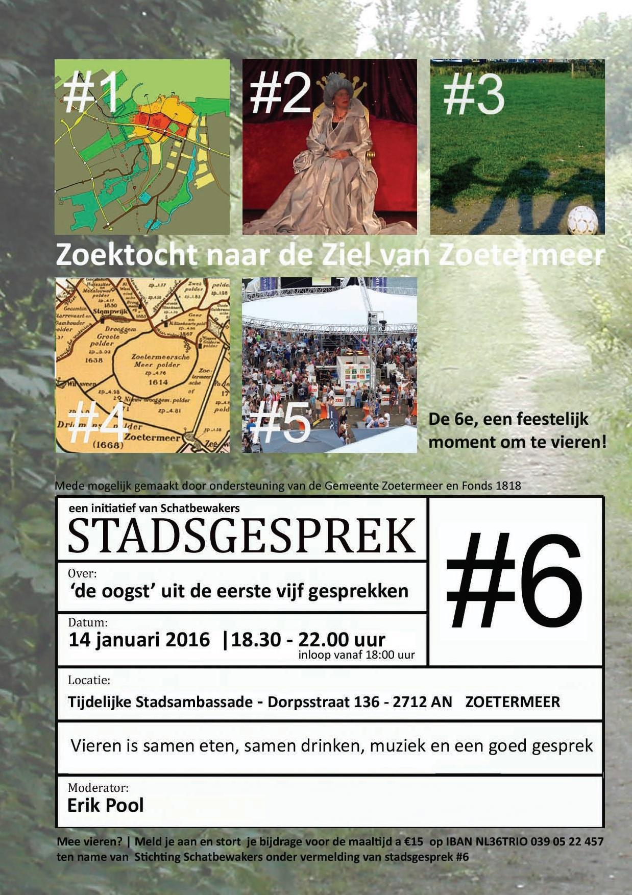 stadsgesprek Zoetermeer