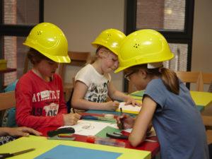 kinderworkshop maquette bouwen