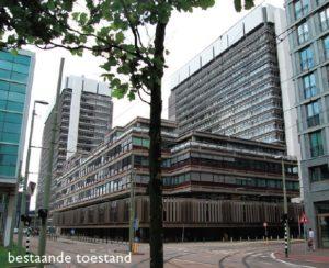 Oorspronkelijke bebouwing ministeries van BZK en Justitie