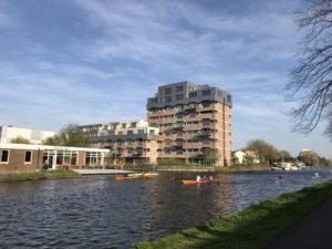 Kluswoningen Junoblok aan de trekvliet in Den Haag