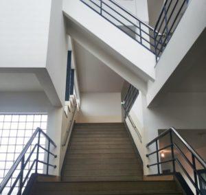 trappen in Duikers derde ambachtsschool