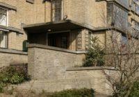 entree Dalton Den Haag in architectuurstijl NIuewe haagse School