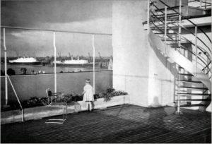 historisch foto het nieuwe bouwen