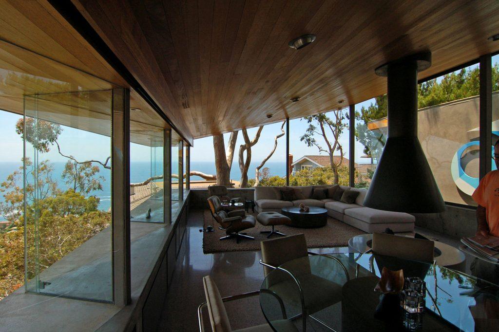 woonhuis ontworpen door John Lautner